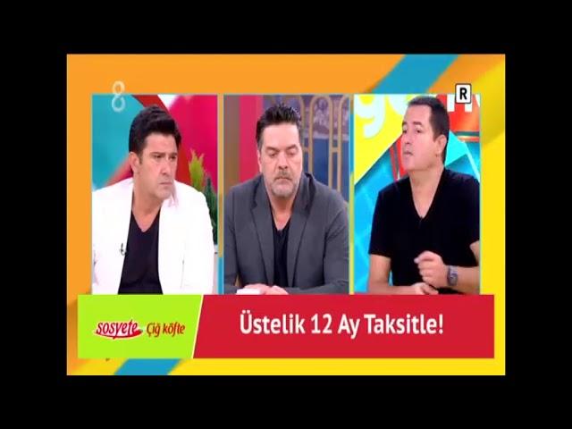 TV8 Sosyete Çiğ Köfte Reklamı